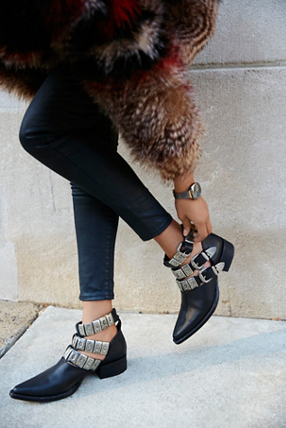 Jeffrey Campbell + Free People Womens ACE WESTERN BOOT