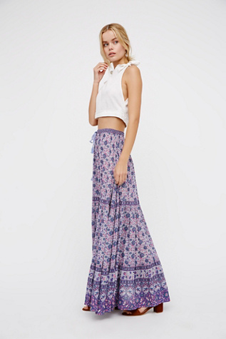 Spell & the Gypsy Collective Womens KOMBI BUTTONDOWN MAXI
