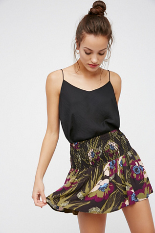 Womens L.A. NIGHTS SKIRT