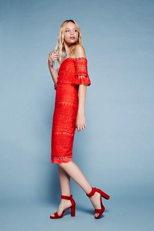 Saylor Womens MARIAH BODYCON DRESS
