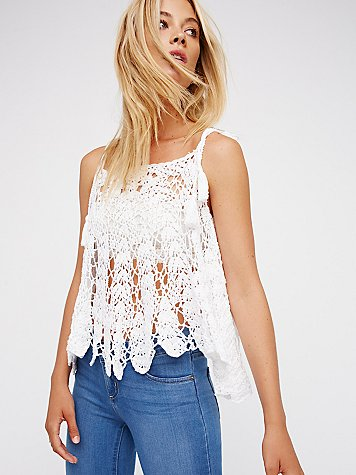 Lovely Lady Open Shoulder Poncho by Anna Kosturova for Free People