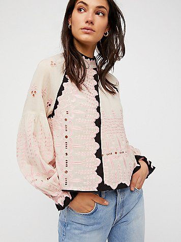Beyond The Horizon Top by Free People