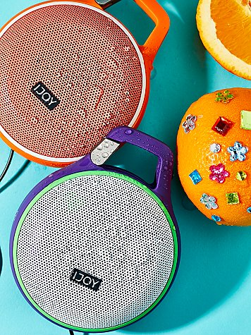 Sound Clip Splash Proof Portable Speaker by iJoy at Free People