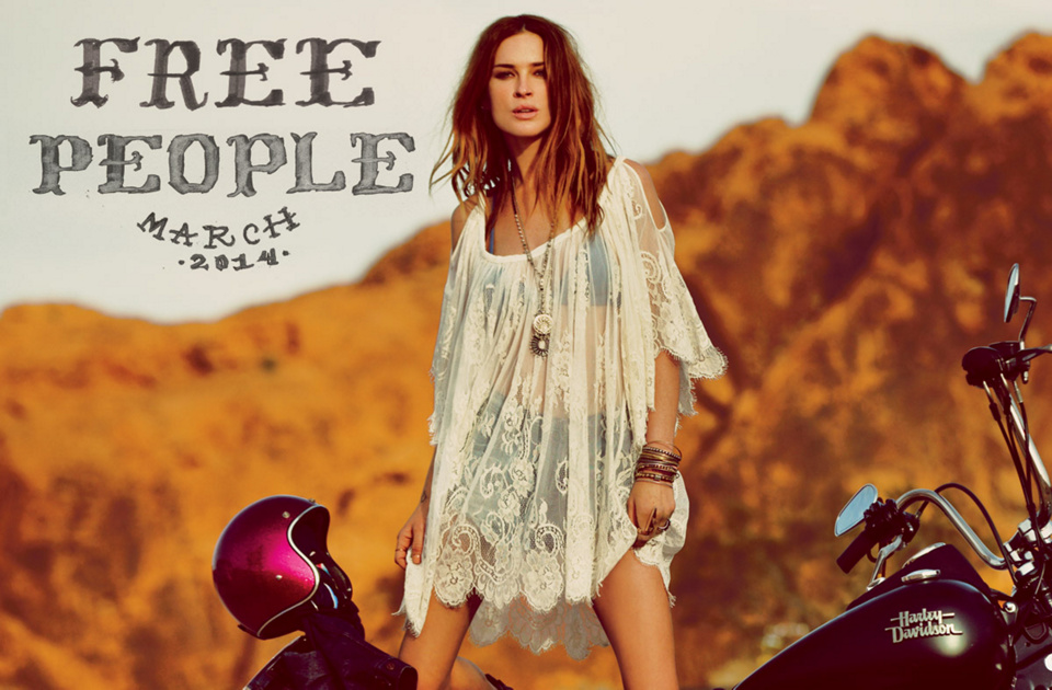 March 2014 Catalog at Free People