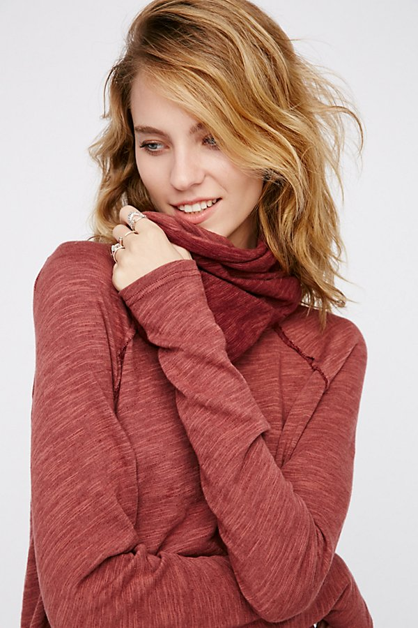 Slide View 3: Cocoon Cowl Neck Top