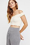 Thumbnail View 1: Smocked Crop Top