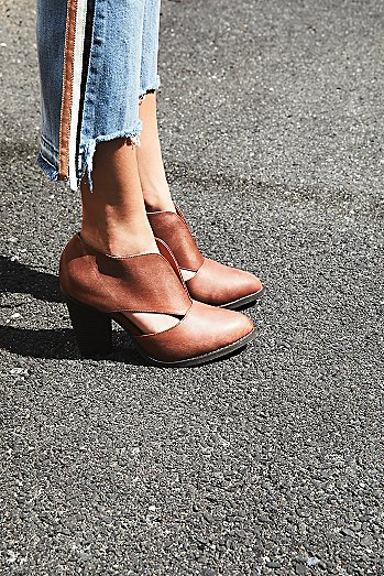 Deep V Ankle Boot