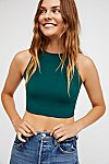 Thumbnail View 1: High Neck Seamless Crop