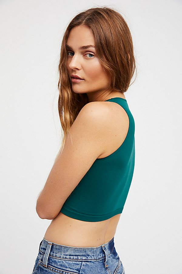 Slide View 2: High Neck Seamless Crop