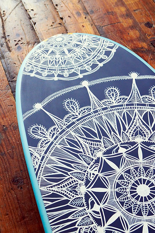 Slide View 6: Custom Painted Surf Board