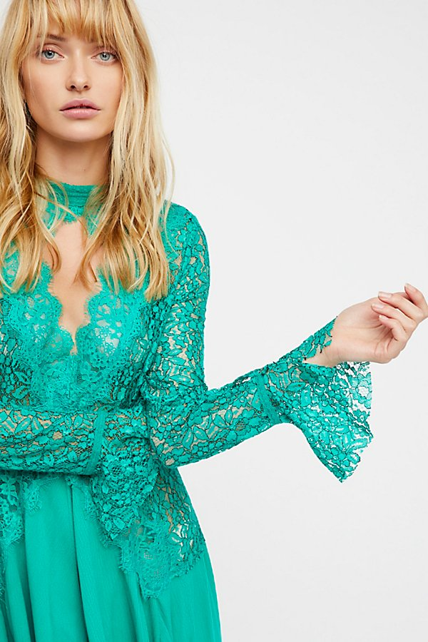 Slide View 4: Secret Origins Pieced Lace Tunic