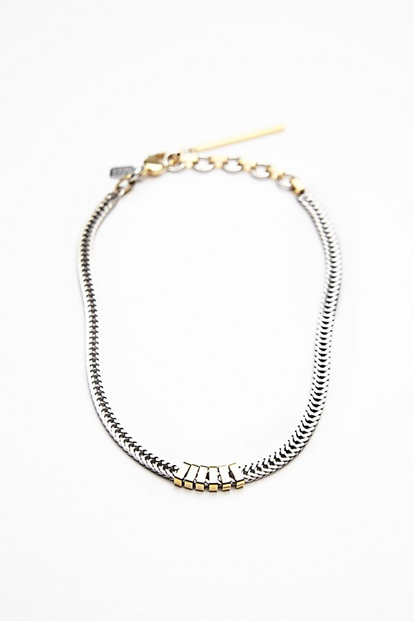 Slide View 2: Flat Chain Necklace