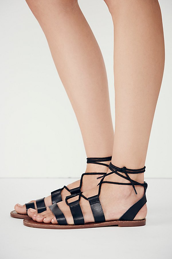 Slide View 2: Vegan Maddie Tie Up Sandal