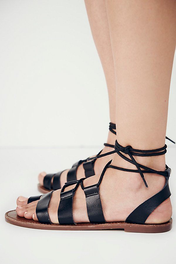 Slide View 5: Vegan Maddie Tie Up Sandal