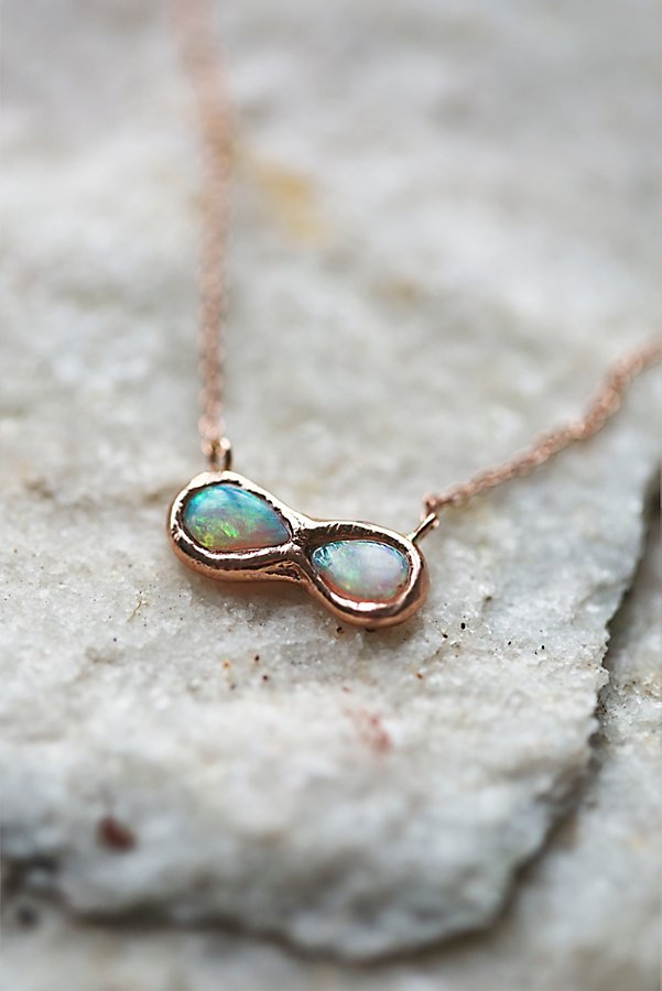Slide View 4: 14k Infinite Possibilities Opal Necklace