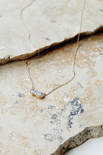 14k Infinite Possibilities Opal Necklace