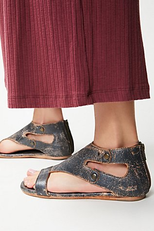 Soto Washed Leather Sandal Free People