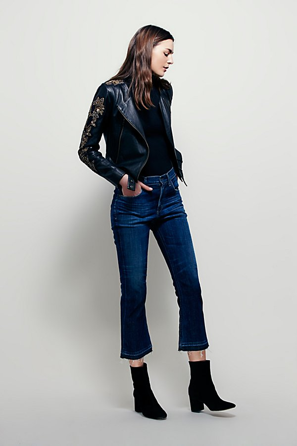 Slide View 5: Doma Embroidered Cropped Jacket