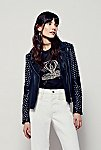 Thumbnail View 3: Doma Studded Biker Jacket