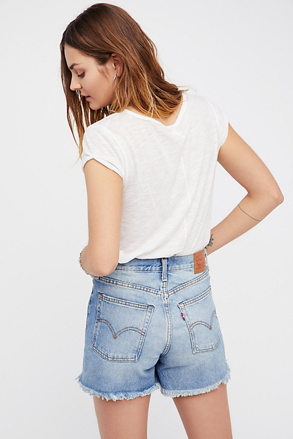 Slide View 3: Levi's High Rise Wedgie Cutoffs