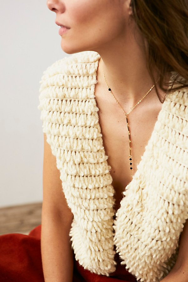 Slide View 3: Vintage Shaggy Knit Vest