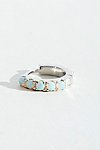 Thumbnail View 1: Opal Eternity Hoop Earring