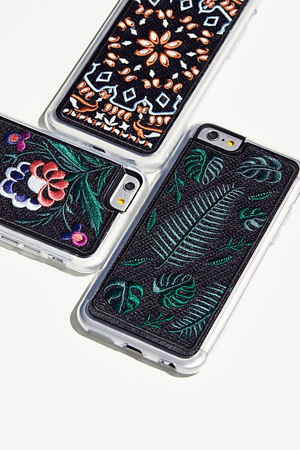 Slide View 1: Embroidered iPhone Case