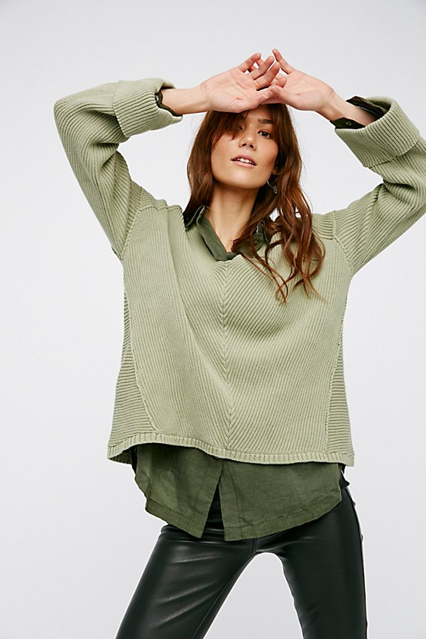 Slide View 1: La Brea V-Neck Sweater