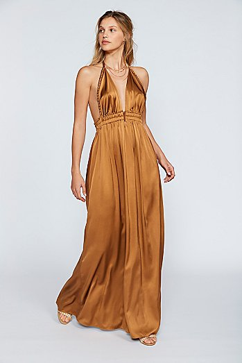 Braided Maxi Dress
