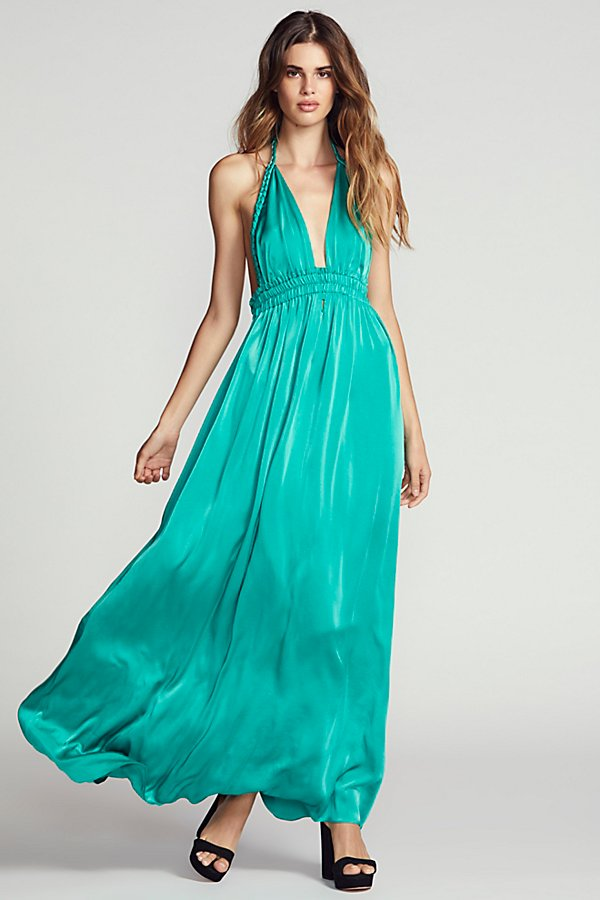 Slide View 1: Braided Maxi Dress