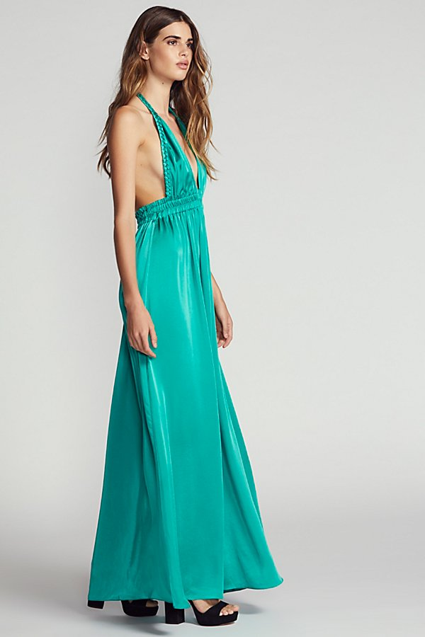 Slide View 3: Braided Maxi Dress