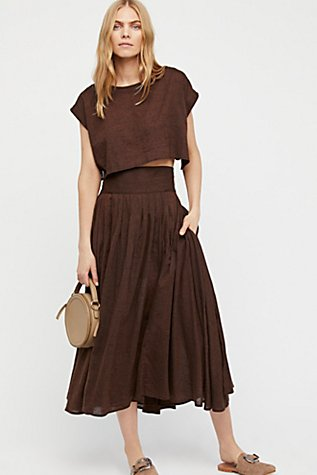 Sundown Skirt Set | Free People | title | sundown set