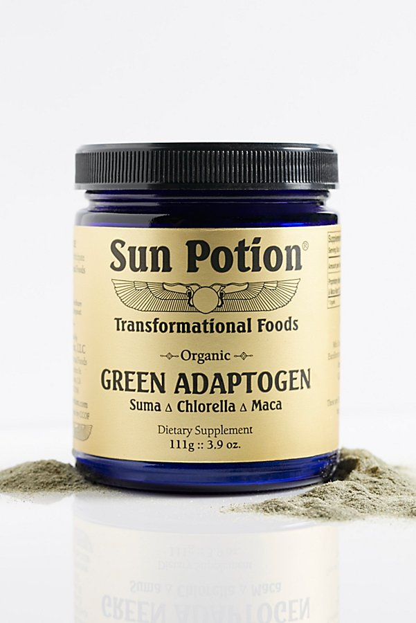 Slide View 1: Green Adaptogen Supplement