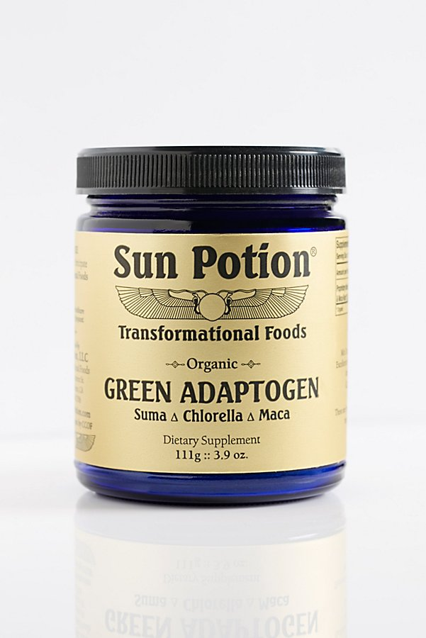Slide View 2: Green Adaptogen Supplement