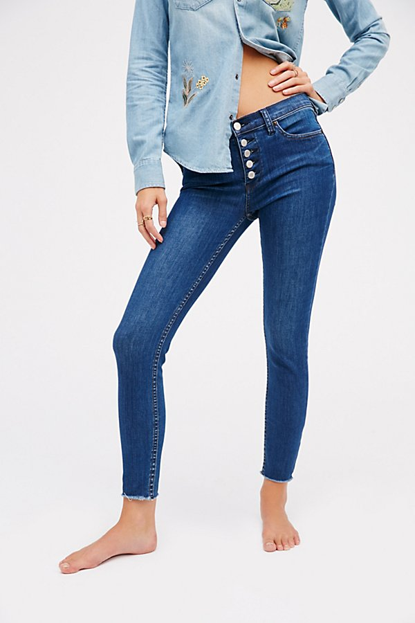 Slide View 2: Reagan Button Front Jean