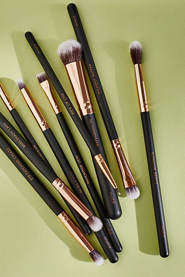 Slide View 1: Vegan Eye Makeup Brush Set