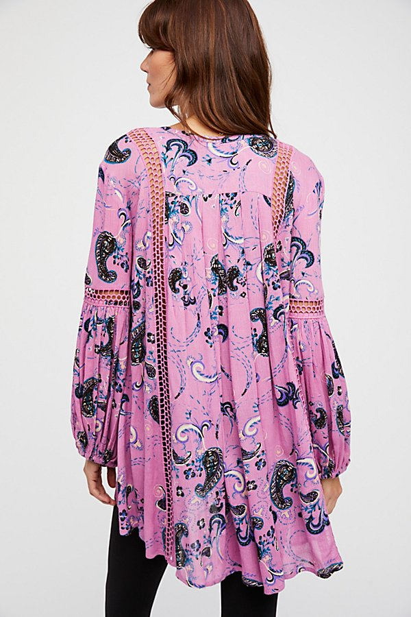 Slide View 2: Just the Two of Us Paisley Printed Tunic