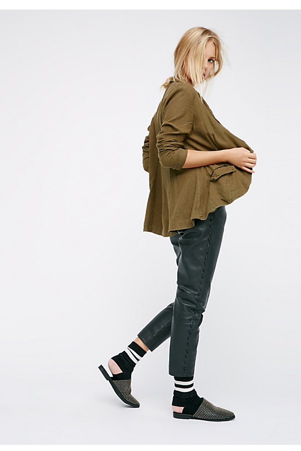 Slide View 6: Linen Blazer