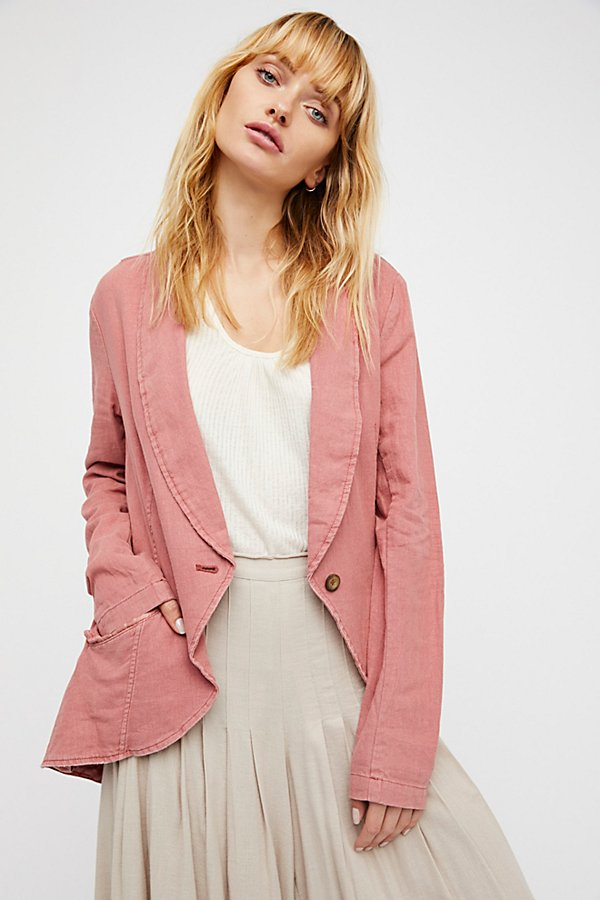 Slide View 1: Linen Blazer