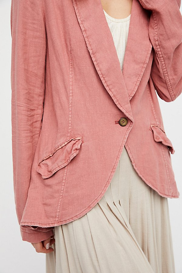 Slide View 3: Linen Blazer
