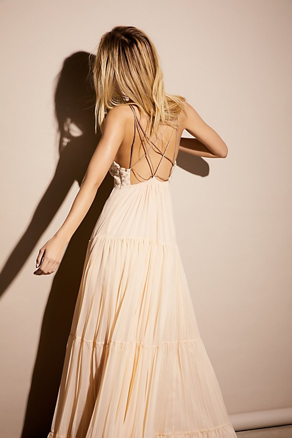 Slide View 3: Lost In A Dream Maxi Dress
