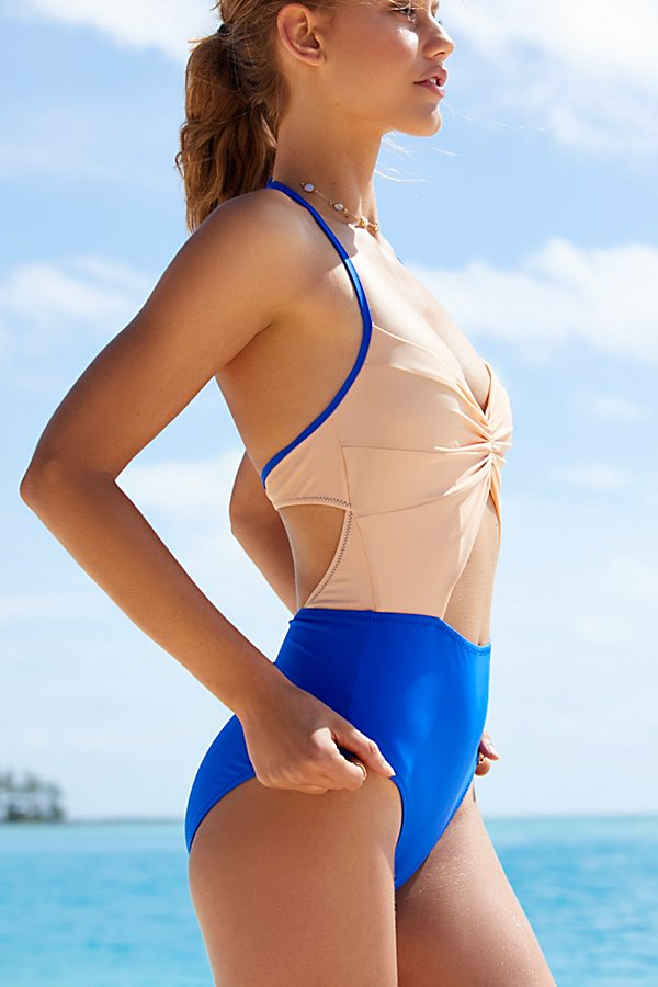 Slide View 3: Flora One Piece Swimsuit