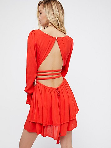 Much Ado Mini Dress by Endless Summer