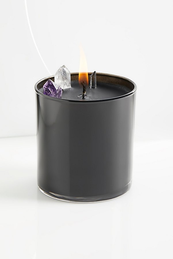 Slide View 1: Soy Quartz Crystal Candle