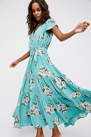 All I Got Printed Maxi Dress | Free People