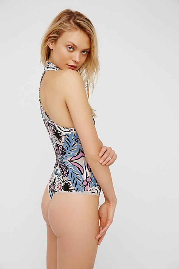Slide View 2: Tucker Printed Bodysuit