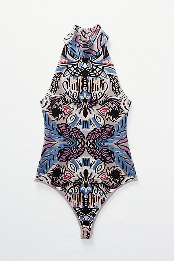 Slide View 7: Tucker Printed Bodysuit