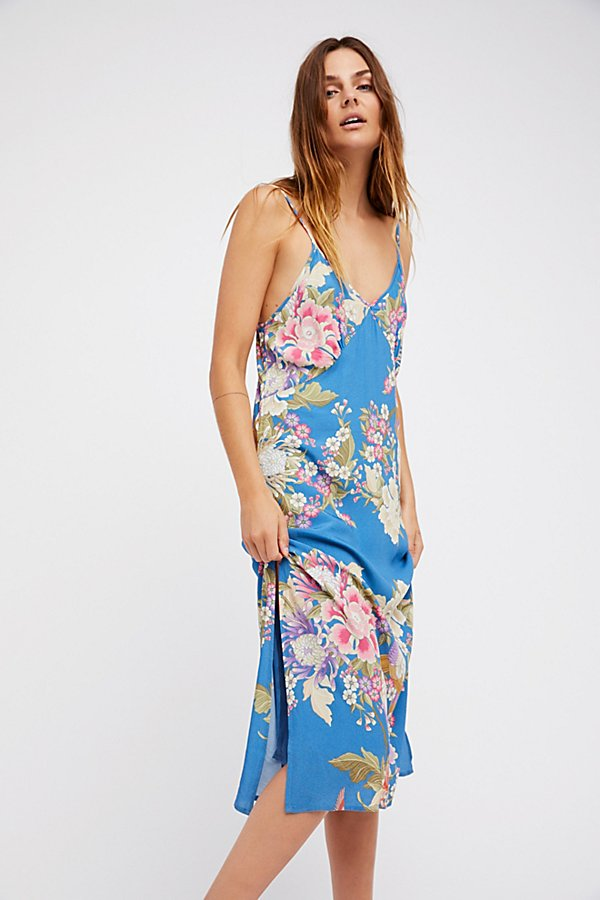 Slide View 3: Blue Skies Slip Dress