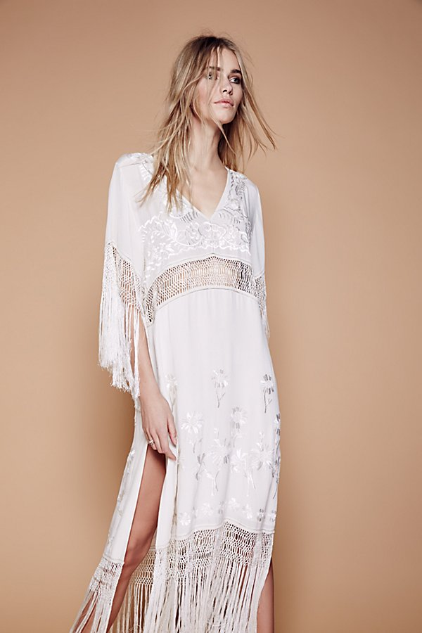 Slide View 2: Ella Fringe Midi Dress