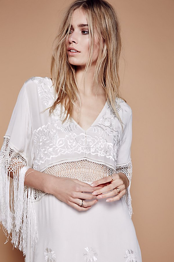 Slide View 4: Ella Fringe Midi Dress